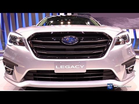 2018 Subaru Legacy 2.5i Sport - Exterior And Interior Walkaround - Debut At 2017 Chicago Auto Show