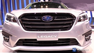 2018 Subaru Legacy 2.5i Sport - Exterior and Interior Walkaround - Debut at 2017 Chicago Auto Show