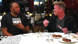 Gordon Ramsay Judges Steaks Cooked By NBA Legends Shawn Marion  Caron Butler  Raising the Steaks video