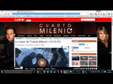 Descargar videos de Cuatro, Telecinco y MiTele con Pa'Luego