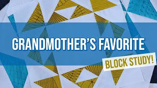 Grandmothers Favorite Block Study: Conquer Bias Triangles with this In-depth Tutorial