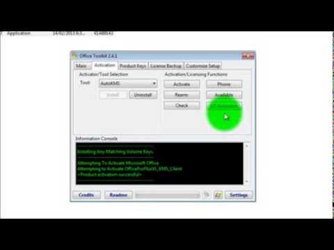 kms activator + microsoft toolkit 4.2.1