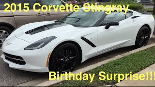 Surprising My Dad With A Corvette C7 Stingray Z51 For His Birthday