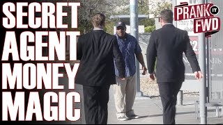 Secret Agent Money Magic! - Prank It FWD