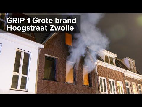 Appartement uitgebrand bij