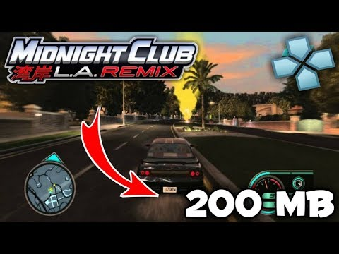 Midnight Club LA Remix PSP Games For Android IOS PC High Graphics | Game PPSSPP