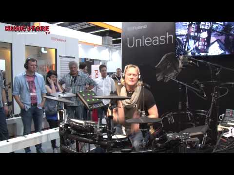 ROLAND TD-25KV E-Drum Kit FULL LIVE DEMO Musikmesse 2015