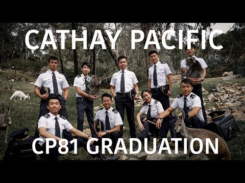 Life as a Cadet Pilot - Cathay Pacific CP81 Graduation
