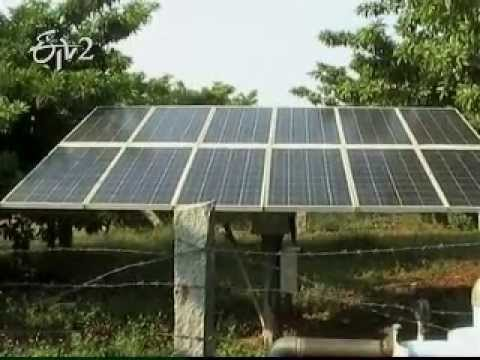 Government incentives for solar power producers