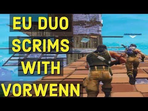 EU Duo scrims with Vorwenn