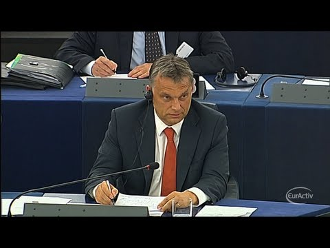 Viktor Orban angry at EU's criticism of Hungary's democratic values