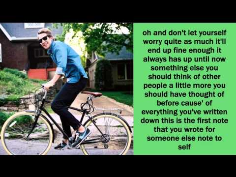 Note to Self Lyrics - Ben Rector