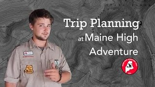 Trip Planning at Maine High Adventure