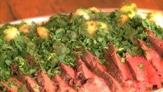 Rôti de bœuf aux pommes de terre