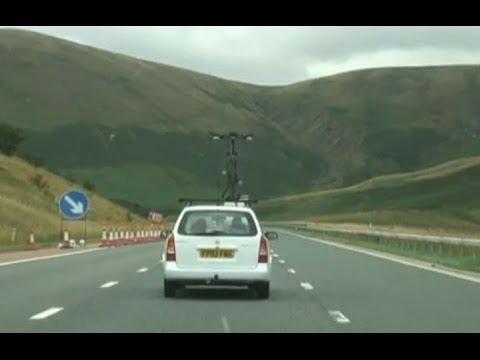 イギリス高速道路M6     Motorway M6 UK
