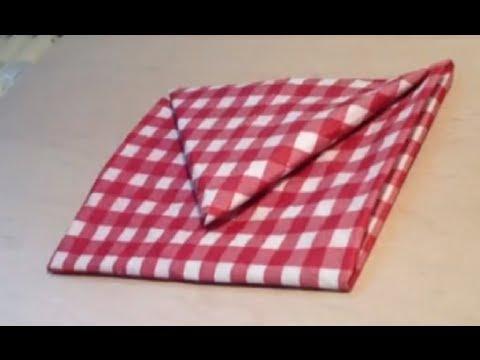 d corer une table pliage serviette enveloppe youtube. Black Bedroom Furniture Sets. Home Design Ideas