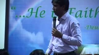 Pastor Vijay Nadar Handling Fear - Part 4