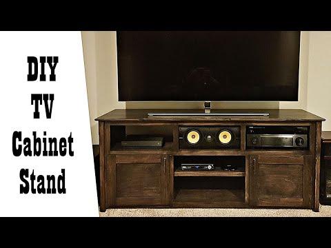 DIY TV Cabinet / Media Stand