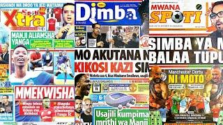 MICHEZO Magazetini Jumapili 11/11/2018:Simba Ya MoDewji Ni Balaa Tupu.