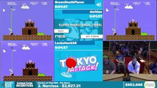 Super Mario Bros. by Various Runners in 5:06 - Awesome Games Done Quick 2016 - Part 138