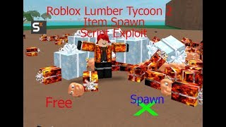 Roblox Lumber Tycoon 2 How To Spawn Items for free ✔✔✔🔴🔴🔴