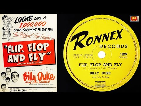 BILLY DUKE And His Dukes - Flip, Flop And Fly (1956) Ronnex Records