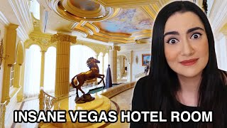 Download We Stayed In A $25,000 Hotel Room In Vegas Mp3 and Videos