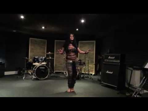 Diana Bastet Metal Belly Dance. AC/DC 'Thunderstruck'