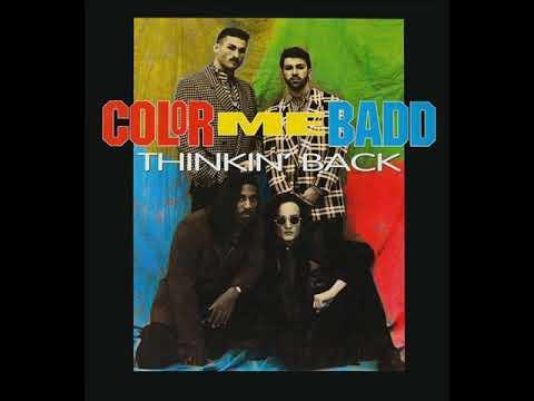 "Color Me Badd - Thinkin' Back (A Capella) Vinyl 12"" #ColorMeBadd #ThinkinBack #Vinyl"
