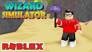 I GOT a LEGENDARY STAFF und NEW PETS-Wizard Simulator Roblox #06