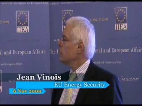 Jean Vinois: EU Energy Security