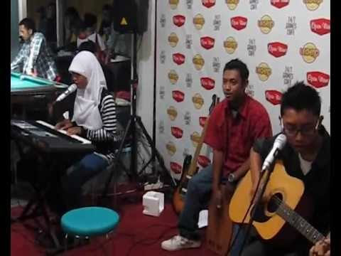 Geisha - Seharusnya Percaya (Favolosa's cover) at Legend Coffee