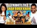 SHAH RUKH KHAN TRIBUTE REACTION!! | 29 YEARS OF SRK In Bollywood - SRK Mashup REVIEW!!