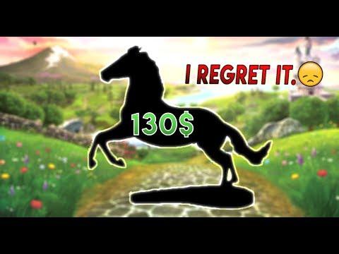 I SPENT 130$ ON A MODEL HORSE