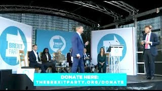 Nigel Farage: Brexit Party rally in Newton Abbot - 1st May 2019