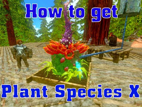 how to get x plant ark survival mobile