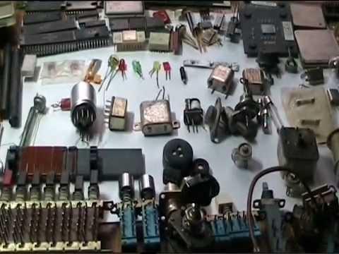 Начинаем заниматься электроникой,какие есть радиодетали.