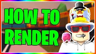 ROBLOX - How To Render Your Roblox Character For FREE!! (Updated Tutorial)