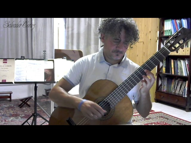 Salvador Cortez CC-50 | Chitarra classica | Antonio D'Alessandro - J.S. Sagreras: Maria Luisa