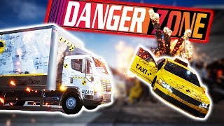 BURNOUT CRASH MODE GAME?! - Danger Zone HUGE UPDATE!