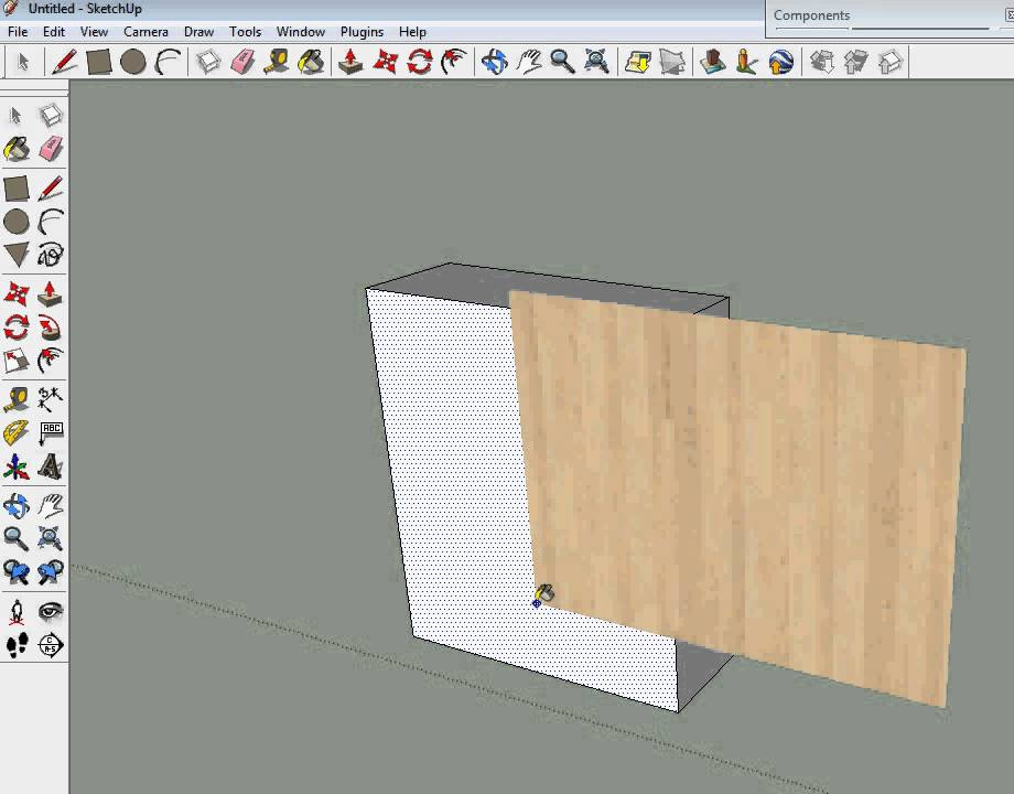 Quick google sketchup texture import tutorial youtube for Sketchup import
