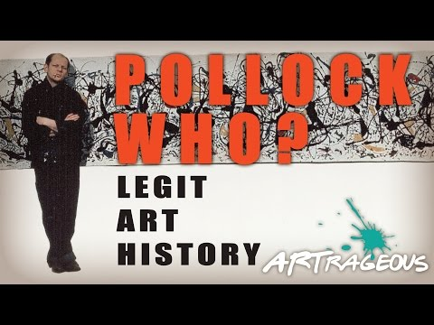 Jackson Pollock Biography | Art History for Middle and High School