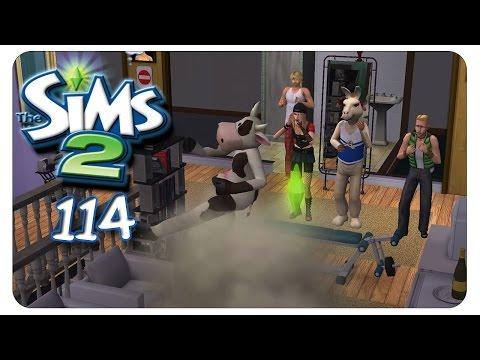 Gewaltausbrüche auf der Sport-Party #114 Die Sims 2 - Alle Addons - Gameplay [1080p]