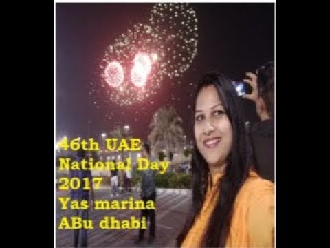 UAE 46th National Day 2017 / Marina circuit / F1 Race Abu Dhabi / Sneha Vlogs