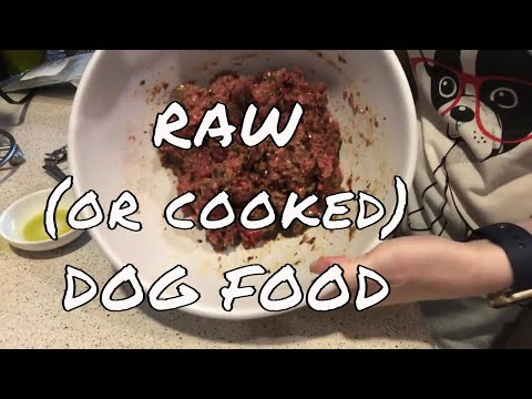Raw Dog Food Recipe Homemade Cooked Dog Food Recipe Fully Balanced Nutrition Dr. Beckers Recipe