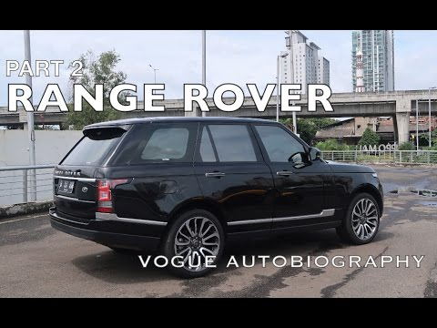 Carvlog RG700 - Range Rover Vogue Autobiography  (INTERIOR)