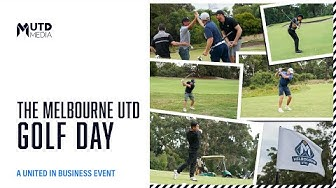 Melbourne United's Golf Day