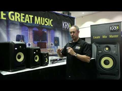 KRK Systems V-Series Powered Studio Monitors