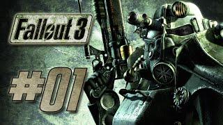 FALLOUT 3 # 01 - Das Leben in einer Vault - Fallout 3 Gameplay German Deutsch
