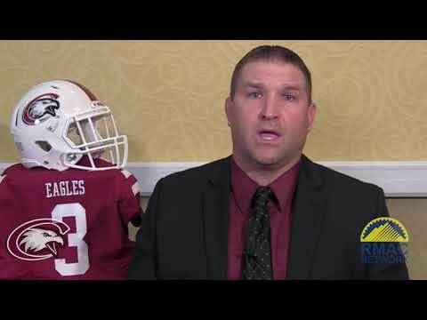 Chadron State Football Media Day One On One Interviews